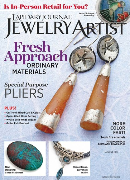 Lapidary Journal Jewelry Artist Cover - 5/1/2019