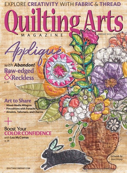 Quilting Arts Cover - 6/1/2019