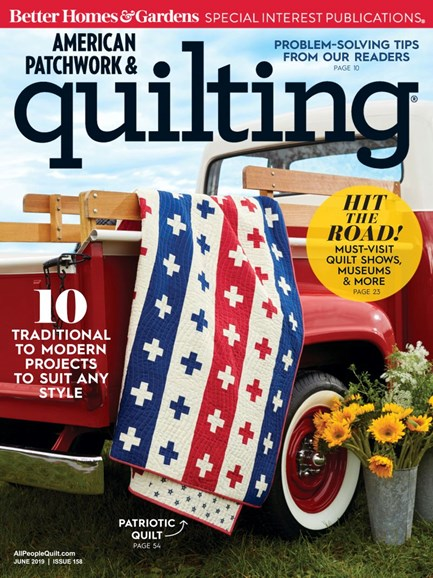 American Patchwork & Quilting Cover - 6/1/2019