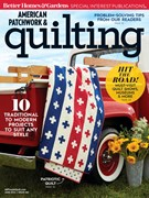 American Patchwork & Quilting Magazine 6/1/2019