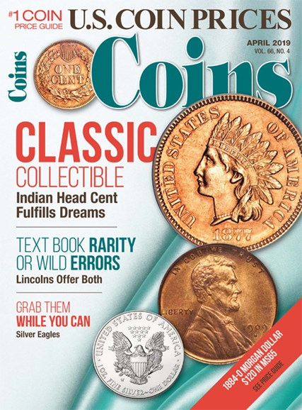 Coins Cover - 4/1/2019