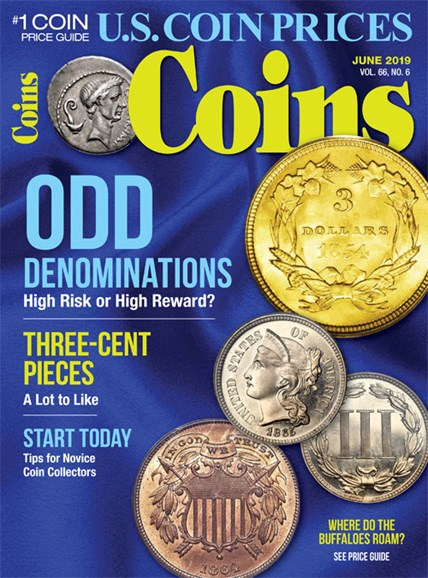 Coins Cover - 6/1/2019