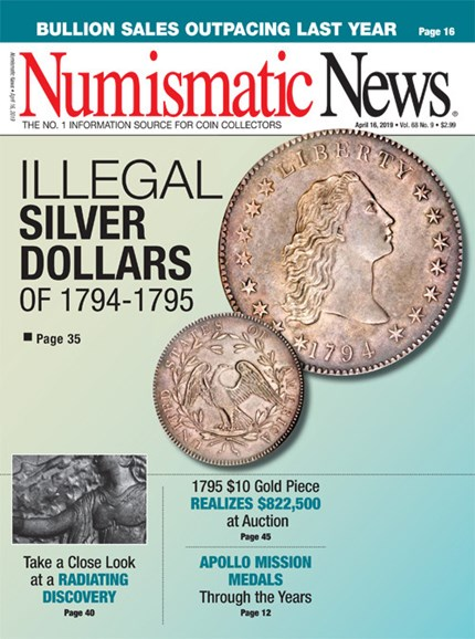 Numismatic News Cover - 4/16/2019