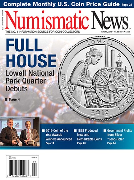 Numismatic News Cover - 3/5/2019