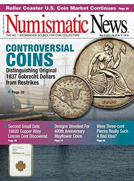 Numismatic News Cover - 5/14/2019