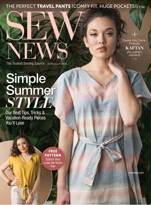 Sew News Magazine | 6/2019 Cover