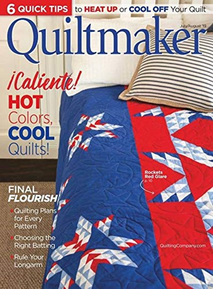 Quiltmaker Cover - 7/1/2019