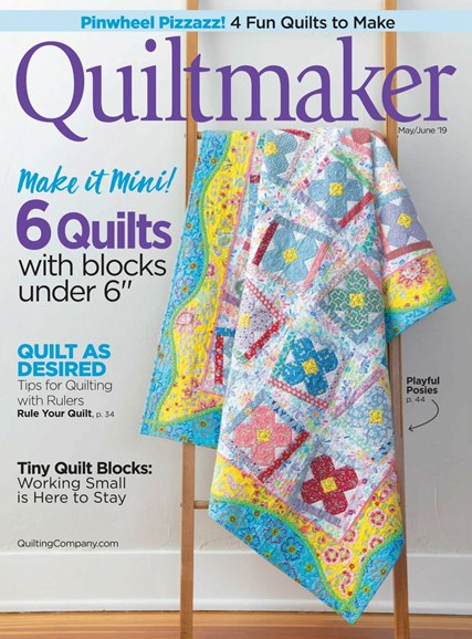 Quiltmaker Cover - 5/1/2019