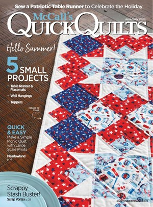 Quick Quilts Magazine | 6/2019 Cover