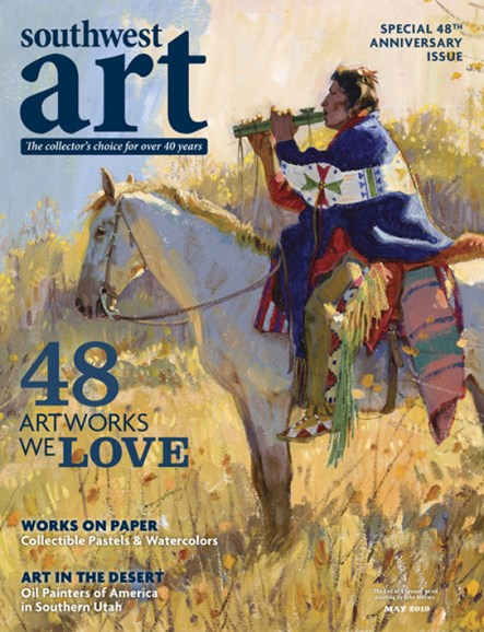 Southwest Art Cover - 5/1/2019