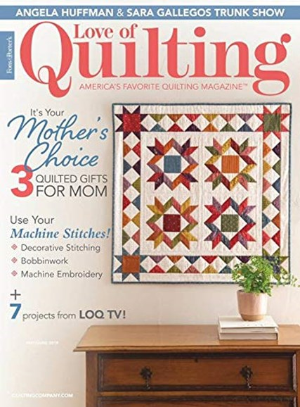 Fons & Porter's Love of Quilting Cover - 5/1/2019