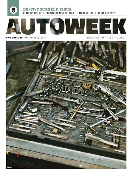 Autoweek Cover - 4/22/2019