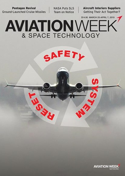 Aviation Week & Space Technology Cover - 3/25/2019