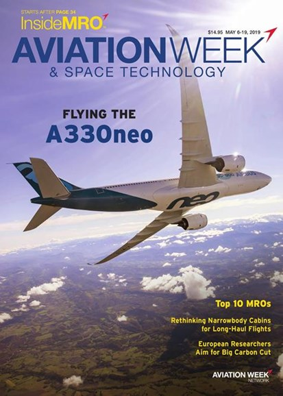 Aviation Week & Space Technology Cover - 5/6/2019