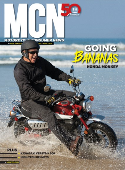 Motorcycle Consumer News Cover - 4/1/2019