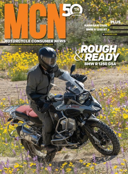 Motorcycle Consumer News Cover - 6/1/2019