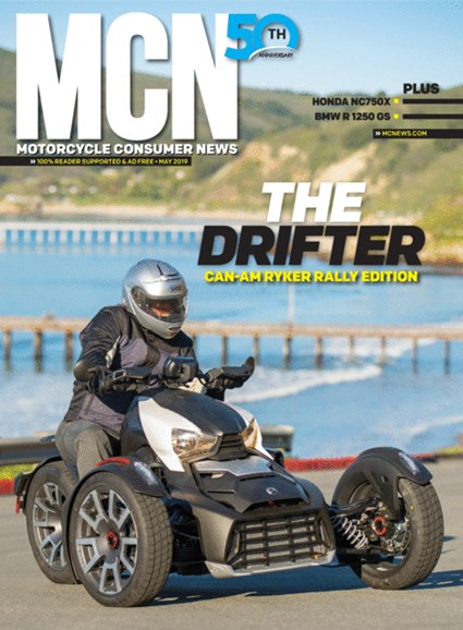 Motorcycle Consumer News Cover - 5/1/2019