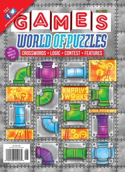 Games World of Puzzles Cover - 6/1/2019