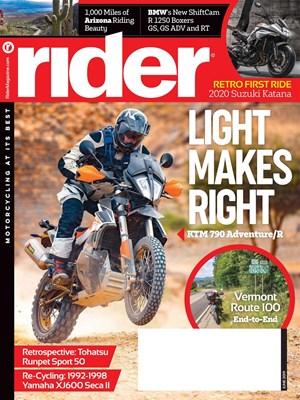 Rider Magazine   6/2019 Cover