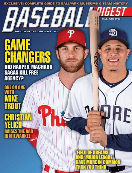 Baseball Digest Cover - 5/1/2019