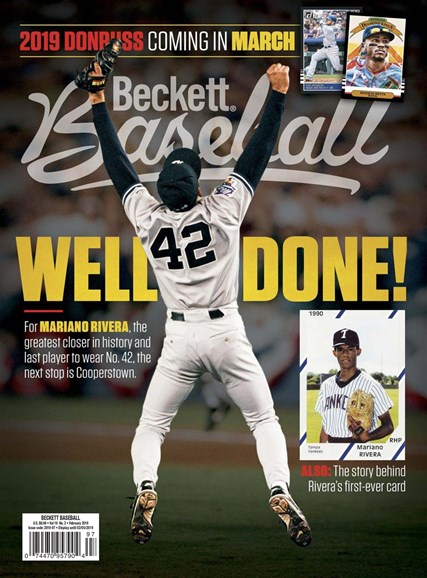 Beckett Baseball Cover - 2/1/2019