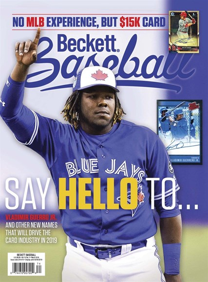 Beckett Baseball Cover - 3/1/2019