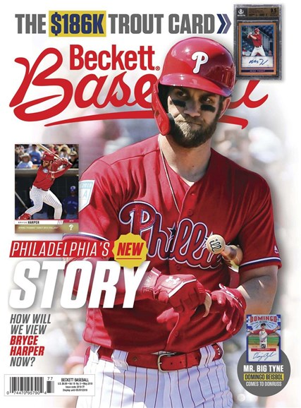 Beckett Baseball Cover - 5/1/2019