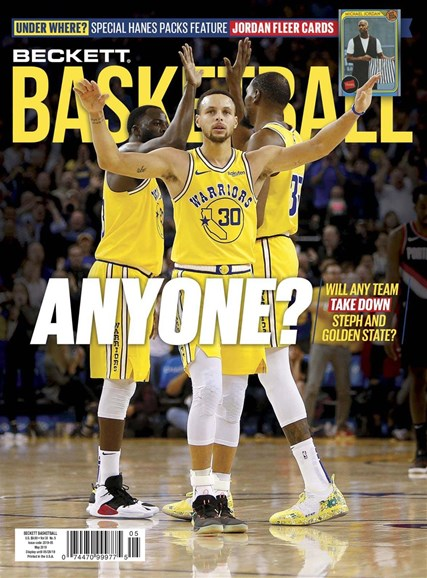 Beckett Basketball Cover - 5/1/2019