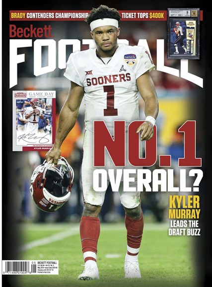 Beckett Football Cover - 5/1/2019