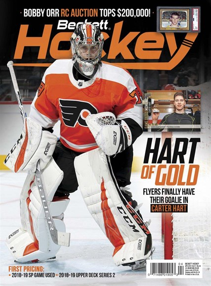 Beckett Hockey Cover - 4/1/2019