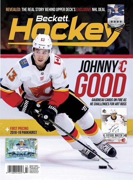 Beckett Hockey Cover - 3/1/2019