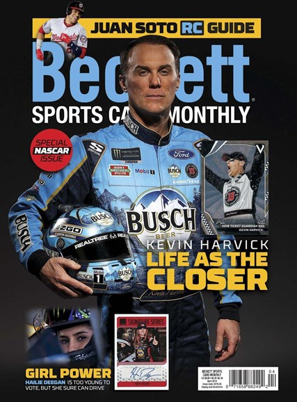 Beckett Sports Card Monthly Cover - 4/1/2019