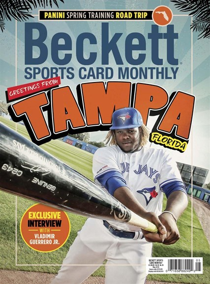 Beckett Sports Card Monthly Cover - 5/1/2019