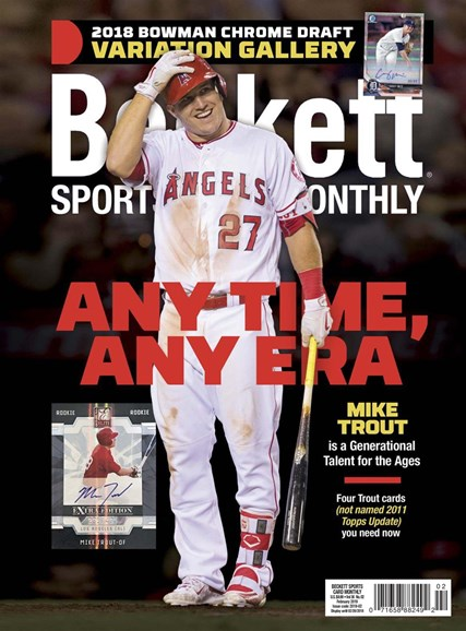 Beckett Sports Card Monthly Cover - 2/1/2019
