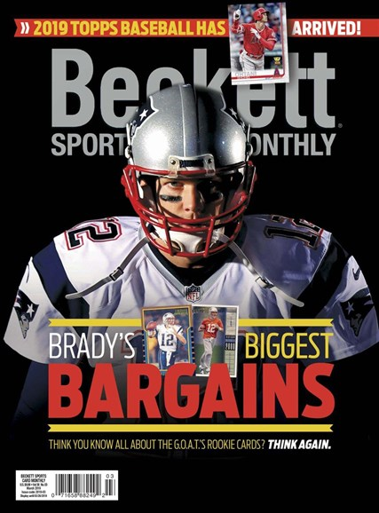 Beckett Sports Card Monthly Cover - 3/1/2019