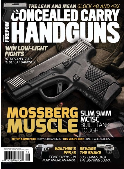 Concealed Carry Handguns Cover - 6/1/2019