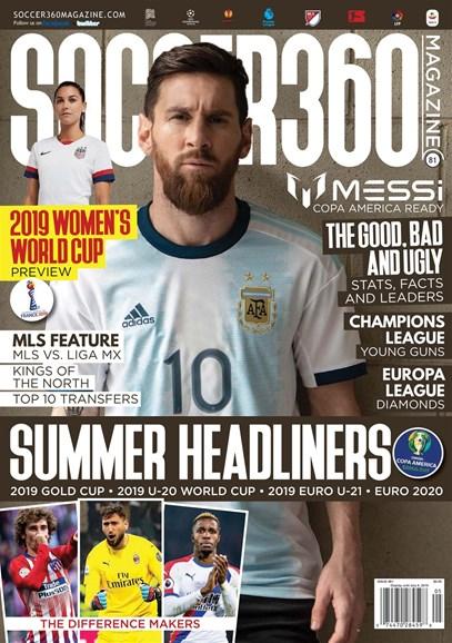 Soccer 360 Cover - 5/1/2019