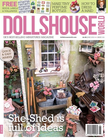 Dolls House World Cover - 6/1/2019