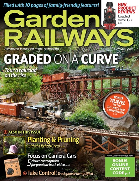 Garden Railways Cover - 6/1/2019