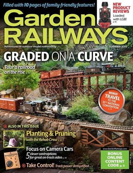 Garden Railways Cover - 6/1/2019