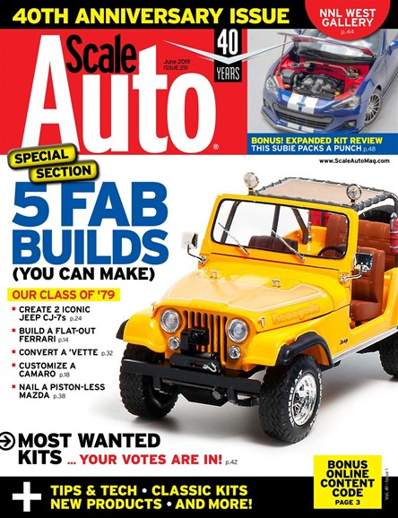 Scale Auto Magazine Cover - 6/1/2019