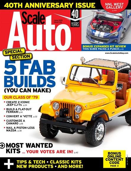 Scale Auto Magazine Cover - 6/1/2019