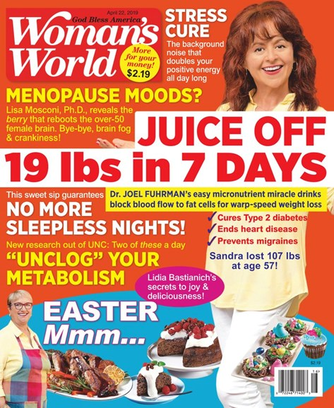 Woman's World Cover - 4/22/2019