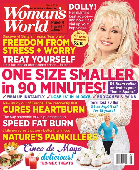 Woman's World Cover - 5/6/2019