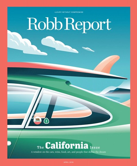 Robb Report Cover - 4/1/2019