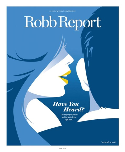 Robb Report Cover - 5/1/2019