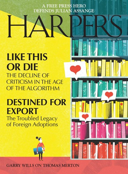 Harper's Cover - 4/1/2019
