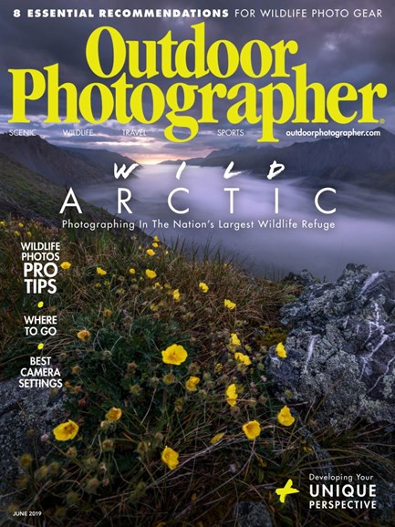 Outdoor Photographer Cover - 6/1/2019