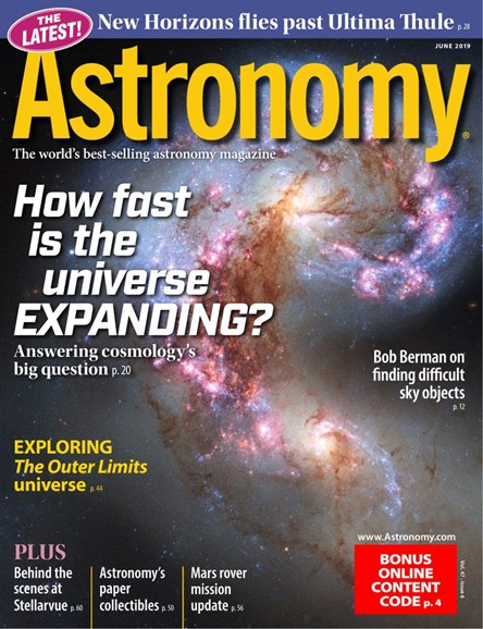 Astronomy Cover - 6/1/2019