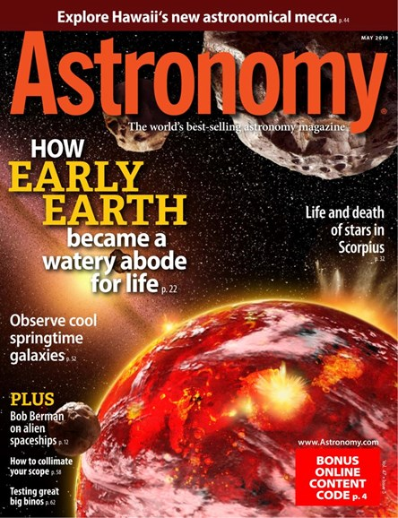Astronomy Cover - 5/1/2019
